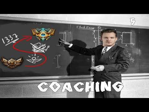 Turning Gold into... Challenger ? Coaching time with Wickd