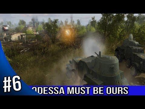 Men of War Red Tide Walkthrough - Odessa Must Be Ours - Thunderstrike 1/3 |