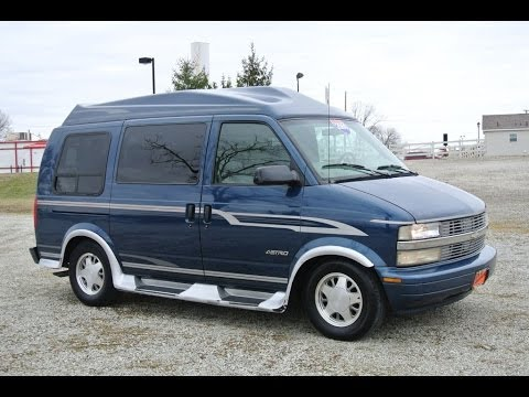 2000 Chevrolet Astro Conversion Van For Sale Dealer Dayton Troy Piqua Sidney Ohio