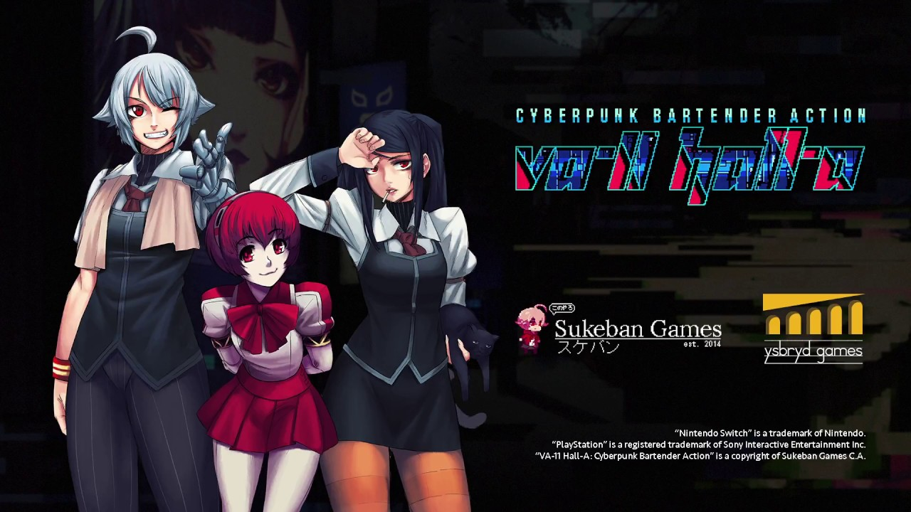 Announcing VA-11 Hall-A for consoles! - YouTube