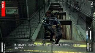 Metal Gear Solid Peace Walker - CQC Montage