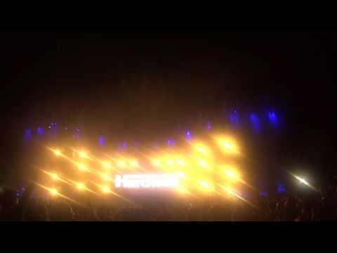 Hardwell Cerrando en Storyland Festival 2016 - Cartagena