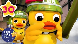 Counting Animals Songs for Kids | 6 Little Ducks | Little Baby Bum