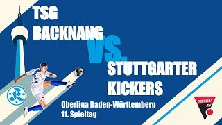 Oberliga BW, 11. Spieltag, TSG Backnang vs. Stuttgarter Kickers-Spielbericht