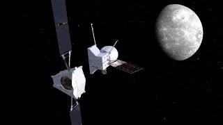 Zwei Raumsonden auf dem Weg zum Merkur