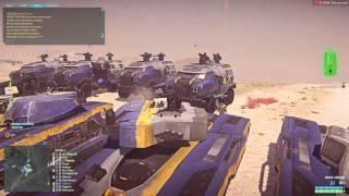 PlanetSide 2 танки у ворот