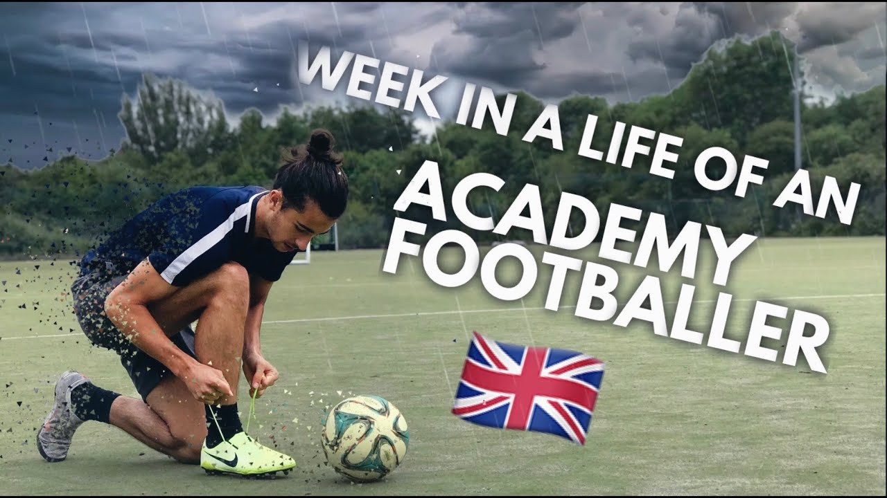 A Week in a Life of a 16 Year Old English Football Academy Player | Soccer lifestyle | False 9