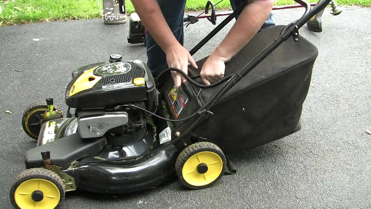 Will It Start Our Briggs Amp Stratton Mower Youtube