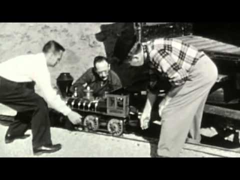 Download Walt Disney's daughter remembers her dad's live steam train
