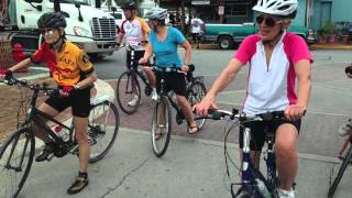 Senior Cycling Florida Keys 2016