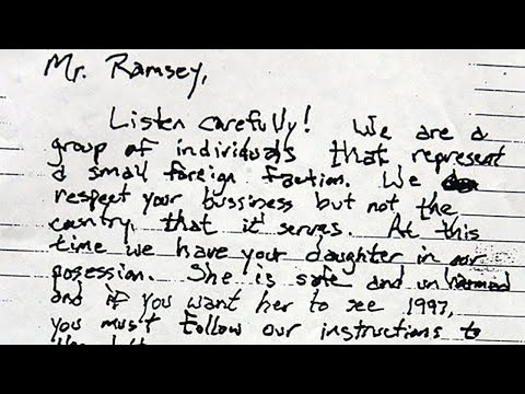 5 Most Chilling Ransom Notes