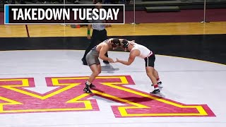 The complete wrestling meet from january 10, 2020 between minnesota and wisconsin. defeated visiting wisconsin badgers 20-14 as g...