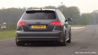 Audi RS3 Sportback w/ Milltek Non Resonated Catback Exhaust - Dragraces!