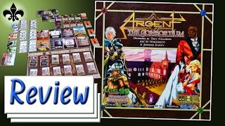 Argent - The Consortium - Brettspiel Review - Level 99 Games