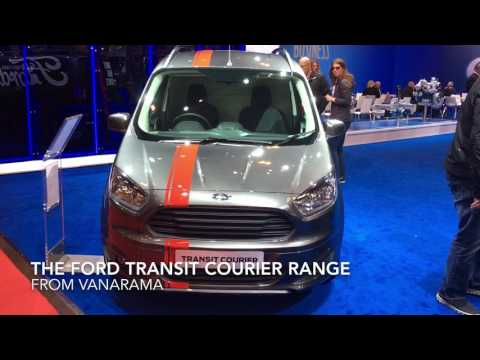 Ford Transit Courier - Vanarama At The CV Show - Van Leasing