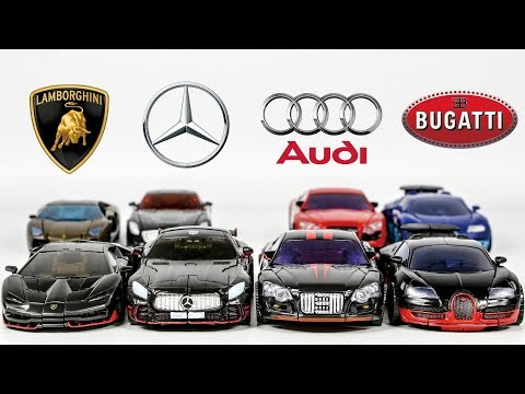 Transformers Super Car Lamborghini Benz Audi Bugatti Sport Car 8 Vehicle Car Robots Toys