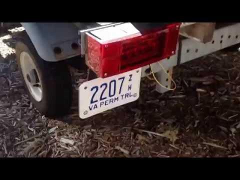 DIY License Plate Holder