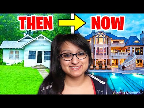Download 5 YouTubers Houses Then And Now! (Aphmau, MrBeast, Jelly, Unspeakable)