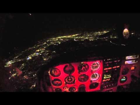 Santa Monica KSMO to Ontario International KONT - Night VFR Flight