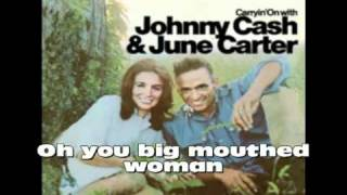 Johnny Cash and June Carter - Long-Legged Guitar Pickin