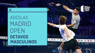 Resumen Octavos de Final Masculinos - Adeslas Madrid Open 2021 (Mañana) - World Padel Tour