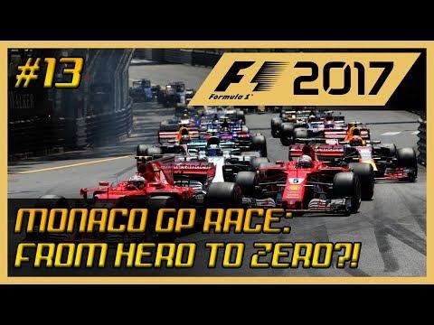 F1 Career Mode #13: Monaco Grand Prix Race - From Hero to Zero?!