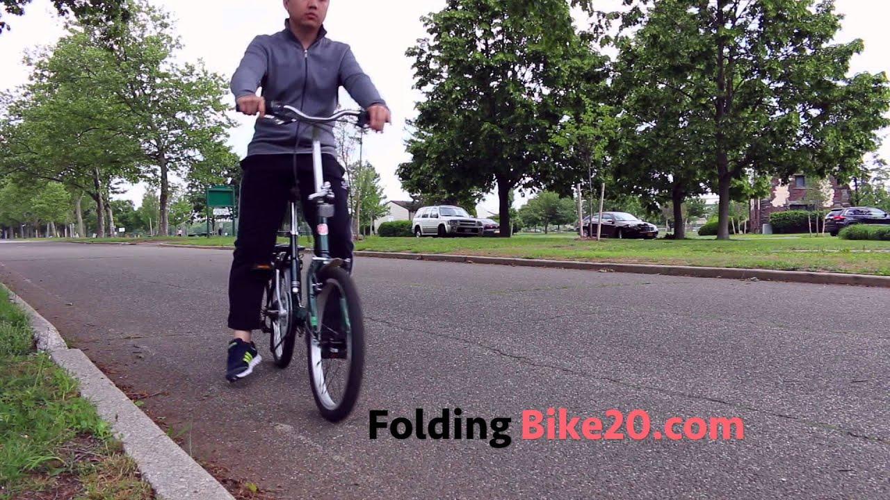 Schwinn Loop 7 Speed Folding Bike Test Ride Youtube