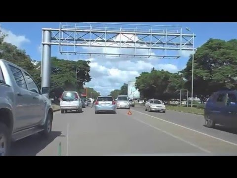 DashCam - 002 - In a Taxi in Lusaka Zambia Feb 2016