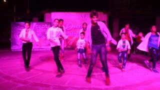 Funk Flyers Dance-Diwali Fest 2016- Studio-Group Performence-Omaxe Club Heaven