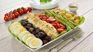 Salata Nicoise cu file de cod | JamilaCuisine