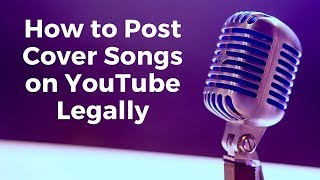 How to Post COVER SONGS on YouTube LEGALLY - Peter Hollens