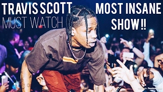 TRAVIS SCOTT Starts A Riot At Concert (Must Watch)