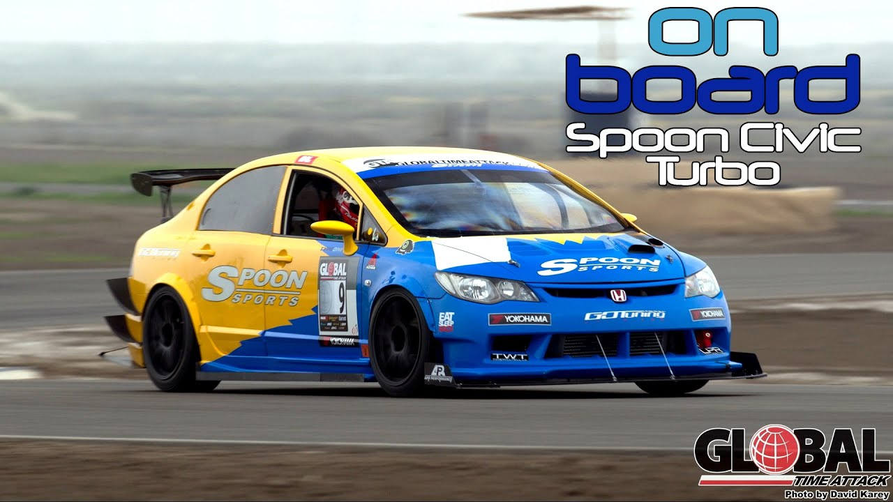 Fastest Spoon Civic Type R Turbo Unlimited Class Winner Global Time Attack