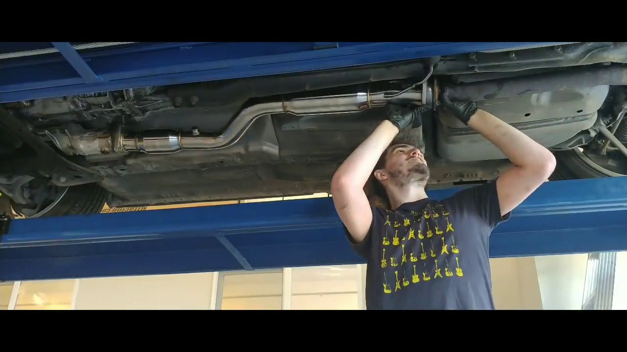 Project RX 8 #1 (High Flow Cat Pipe Install)