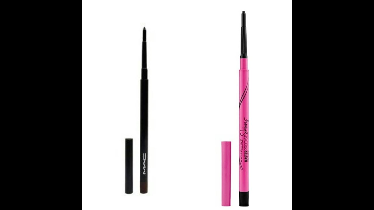 Mac Vs Maybelline Retractable Eyebrow Pencil Demo And Review Youtube