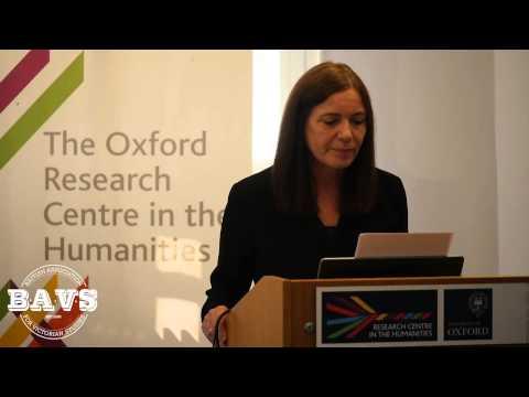 BAVS Talks 2015 - Hilary Fraser, 'The Shelley Memorial: Objects Viewed in Interdisciplinary Ways'