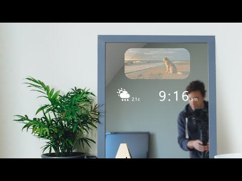 DIY Smart Mirror (that doesn't steam up!)