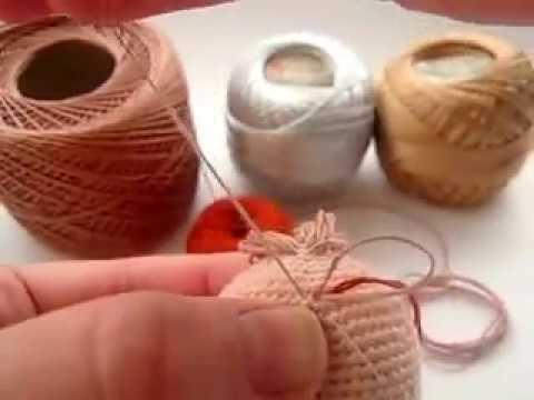 Как сделать волосы кукле амигуруми