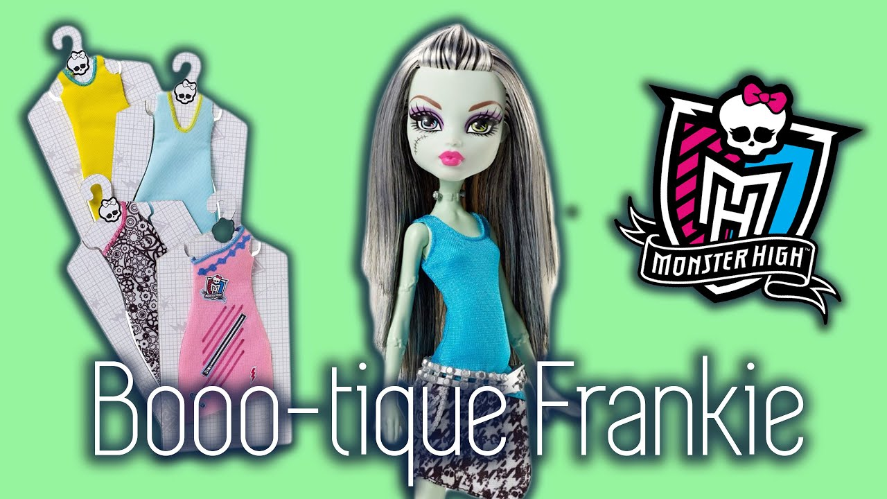 Monster High Designer Booo Tique Frankie Stein Doll Review Youtube