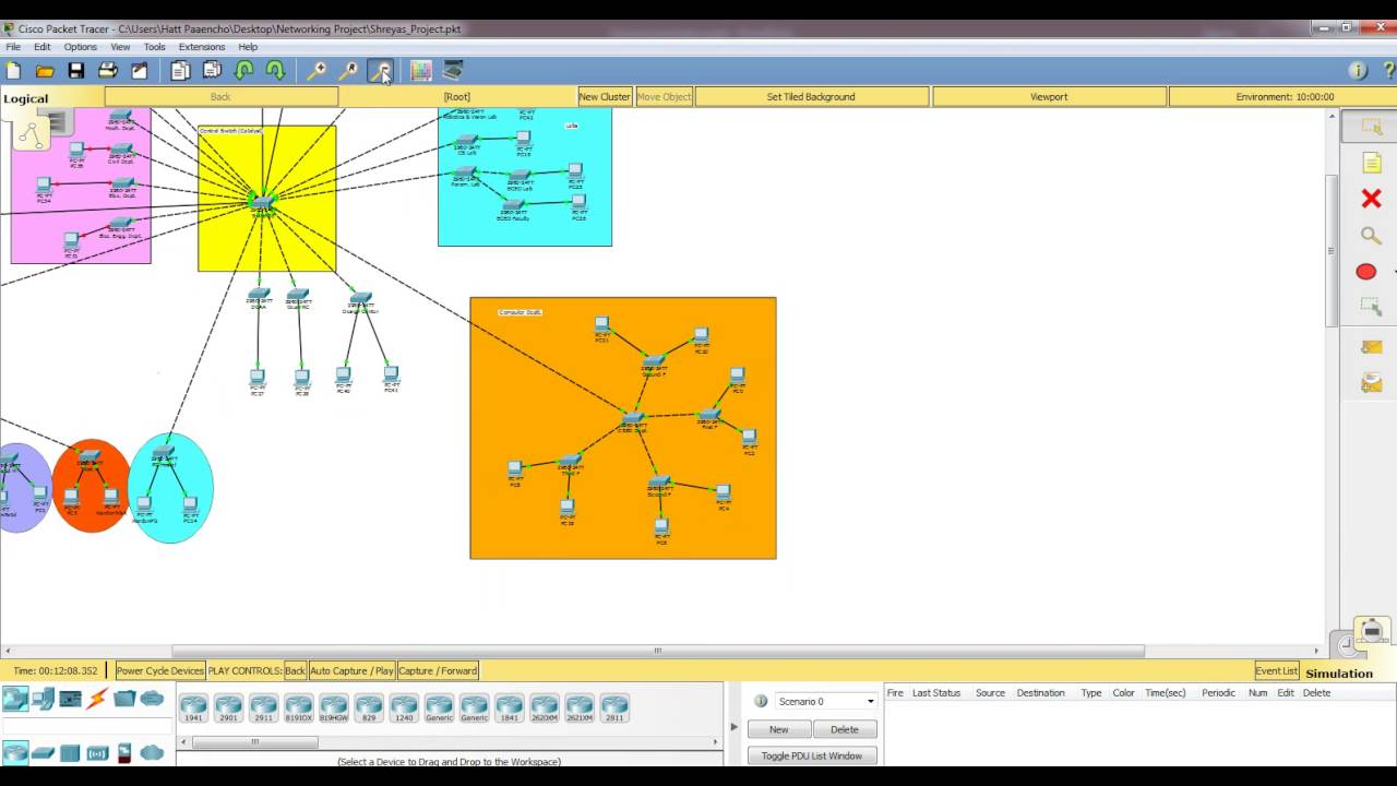 networking design proposal  Network Design Proposal for MNNIT | Networking Project - YouTube