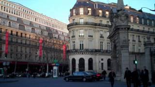 Paris, le quartier des grands magasins
