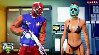 GTA 5 Hike The SLASHER!! NEW Halloween DLC Adversary Mode (GTA 5 Funny Moments)
