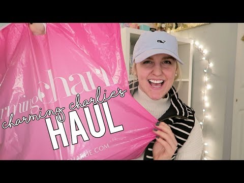 CHARMING CHARLIE'S HAUL & SHOPPING VLOG (10-23-17) || Kellyprepster