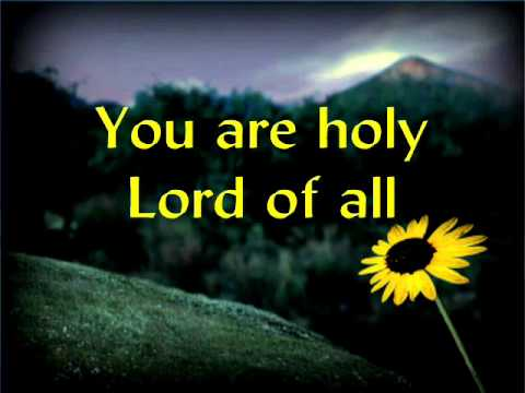 For you are holy lyrics