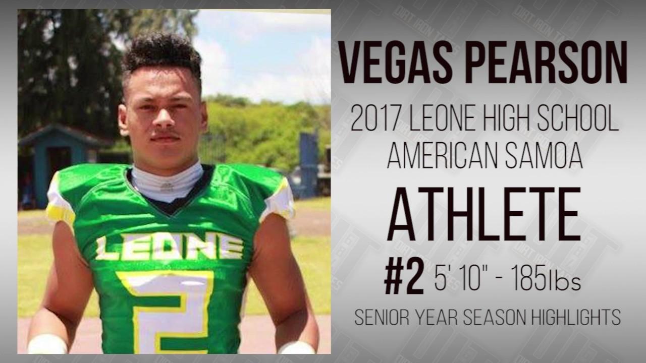 VEGAS PEARSON - ATH - 2017 LEONE HIGH SCHOOL, AMERICAN
