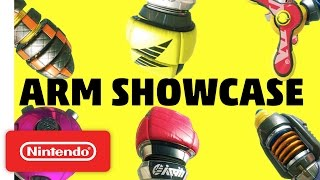 ARMS Weapon Showcase - Nintendo Switch