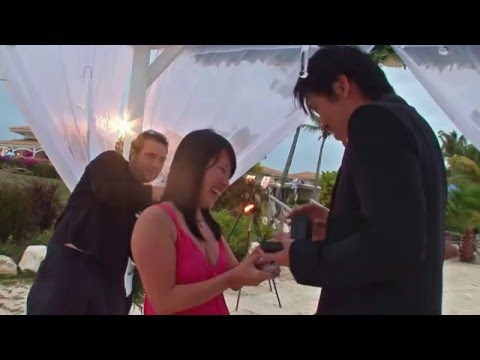 The Perfect Wedding Proposal 11 May 2012  Jumby Bay Antigua