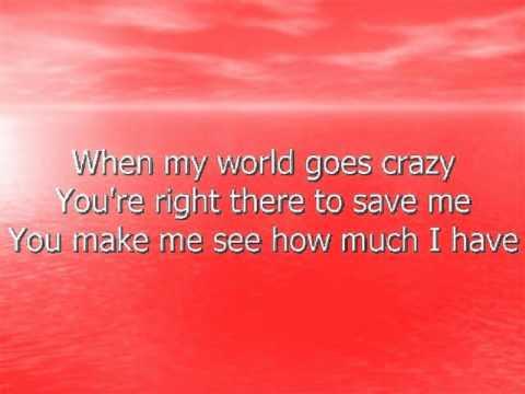 Tim McGraw-My Best Friend Lyric Video