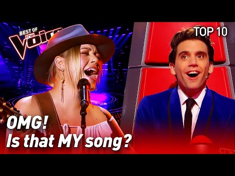 TOP 10 | COACH SONGS surprise The Voice coaches