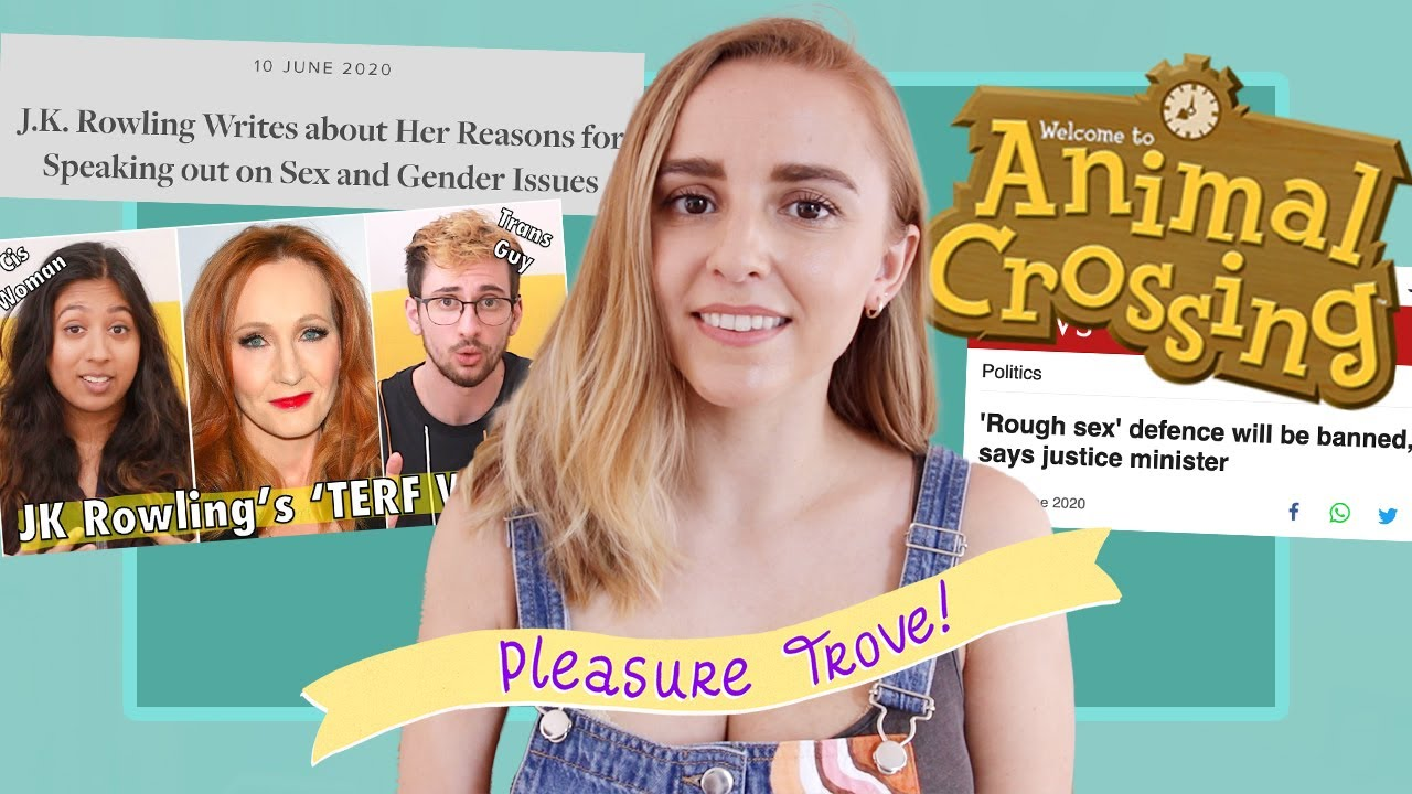 Rough Sex Defence, Animal Crossing Sex Workers and JK Rowling's Transphobia | Hannah Witton